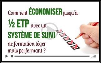 Comment économiser jusqu'à ½ ETP avec un système d'évaluation de formation léger mais performant ?